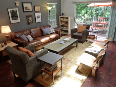 Redwood Canyon, Open Living Room, Modern Home - Redwood Canyon - Rio Nido - rentals