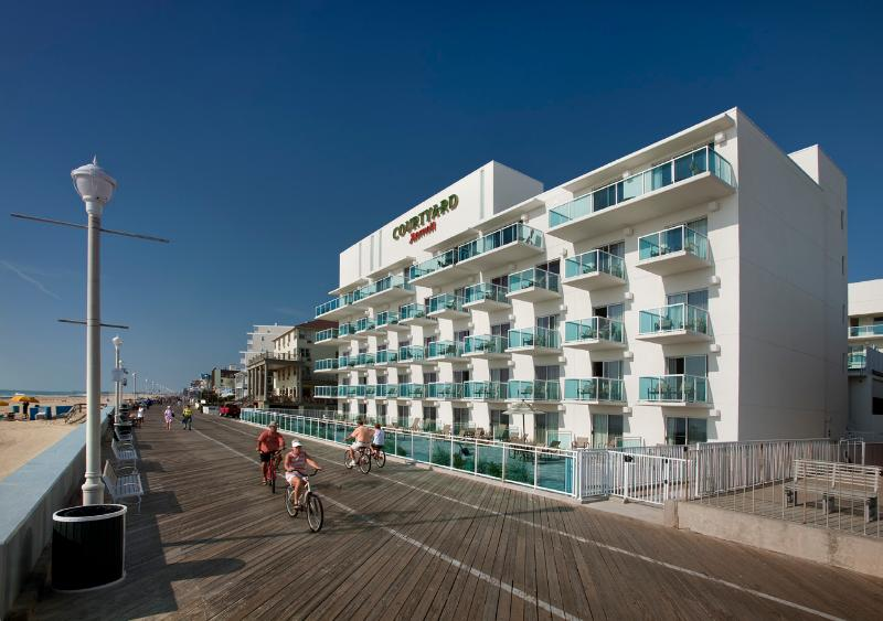 Front of Condo - LUXURY CONDO ON BEACH & BOARDWALK - Ocean City - rentals