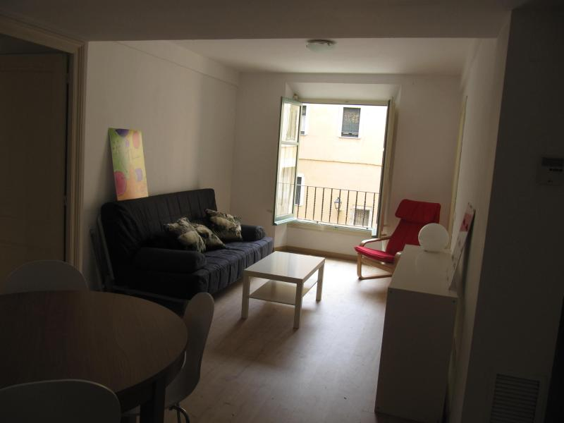Livingroom, with an extra sofa bed for two extra guests - Family apartment in old town Girona - World - rentals