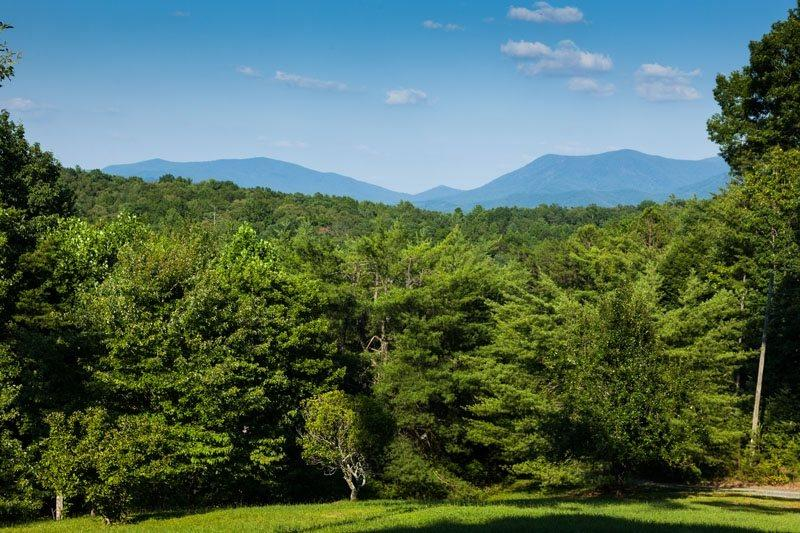Awesome views from all the deck areas - Angel Mountain Lodge - Ellijay GA - Ellijay - rentals