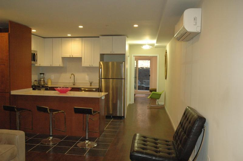 Modern, Luxurious, Townhome Garden Apt. 1 Bedroom - Image 1 - Manhattan - rentals