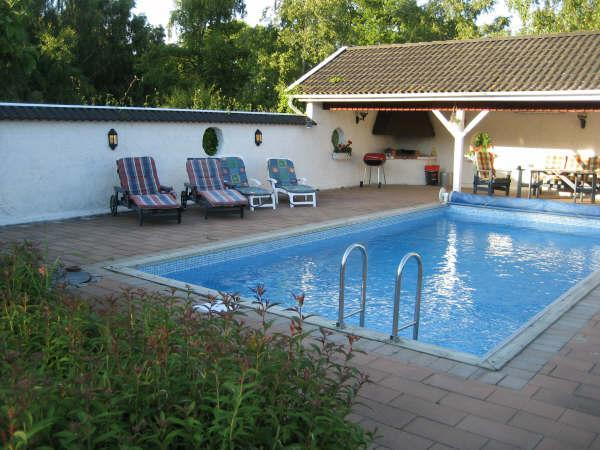 Pool - Sweden Holiday Accommodation - Fagelmara - rentals
