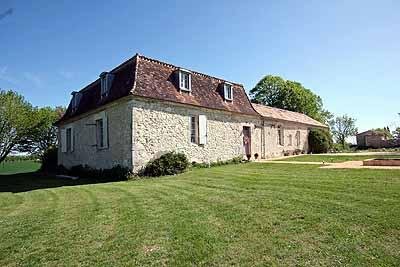 House and gardens - Stylish french manoir to let with private pool and outstanding views - Cahuzac-sur-Vere - rentals