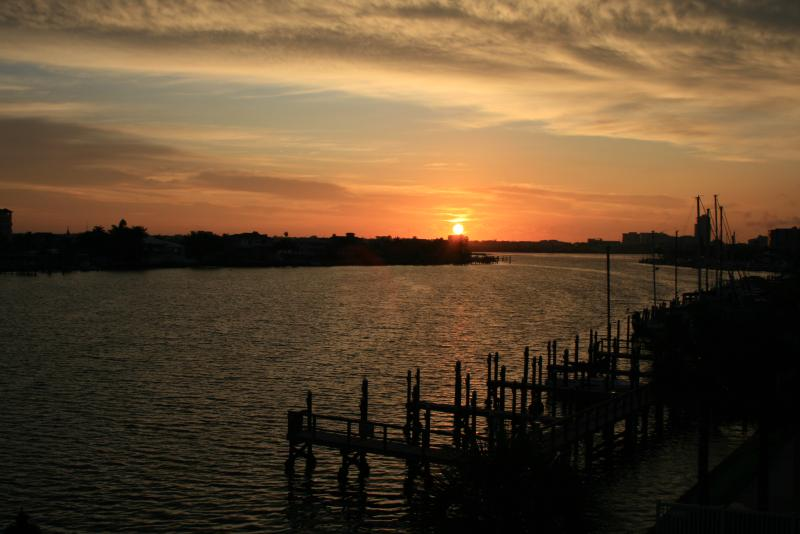 Sunset from the balcony - WELCOME HOME TO CLEARWATER BEACH ISLAND RETREAT! - Clearwater Beach - rentals