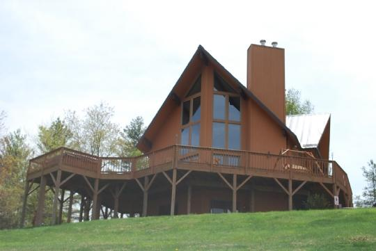Kiss the Sky - Kiss the Sky-Cabin_Mountain Views_Hot Tub_Pool Table_Pet Friendly_Family Friendly_Private_Secluded - Jefferson - rentals