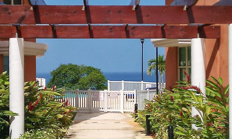 Beautiful garden and pool area - See the Ocean from your Kitchen - Aguadilla - rentals