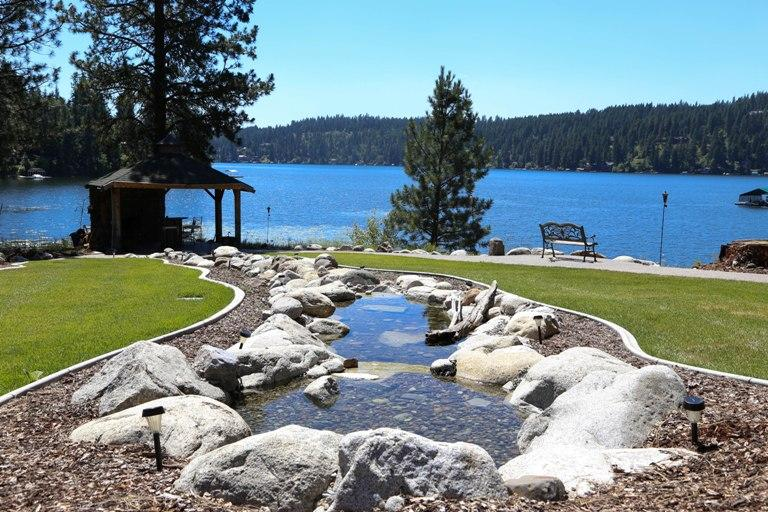 Your Private Peninsula Vacation   - Hayden Lake Estate: A Waterfront Vacation Home - Hayden - rentals