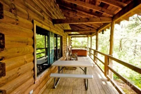 Spacious Porch with Rockers and Jacuzzi - Townsend Cabin #3, Mountain Gem - Townsend - rentals