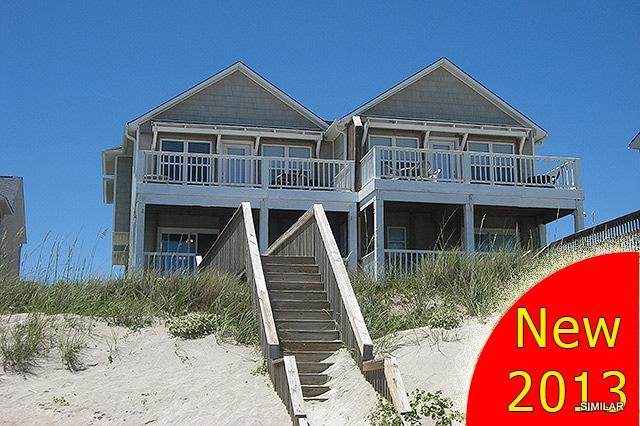This unit is on the left - N. Topsail Dr. 826-B - Surf City - rentals