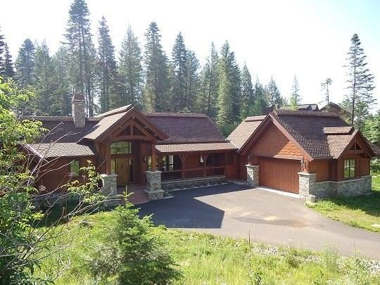 Private setting amongst Ponderosa Pines and Aspens - Steelhead Chalet - Custom Chalet with 4 Bedrooms, 4.5 baths, WIFI. Sleeps 12-14 - Tamarack Resort - rentals
