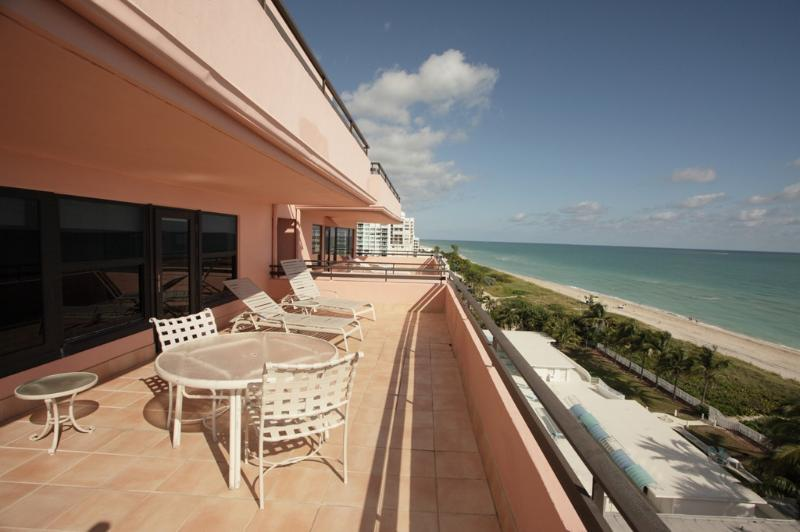 Large Oceanfront Balcony - Miami Beach 1001 Oceanfront with Great Ocean Views - Miami Beach - rentals