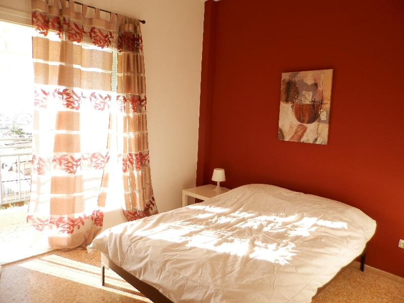 Bedroom - Acropolis @ your balcony near Ilioupolis metro! - Athens - rentals