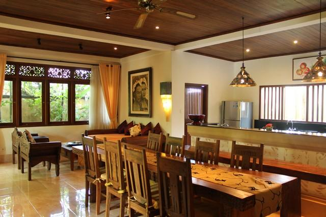 Dining & Kitchen - Three bed Room Pool Villa Rental Ubud - World - rentals