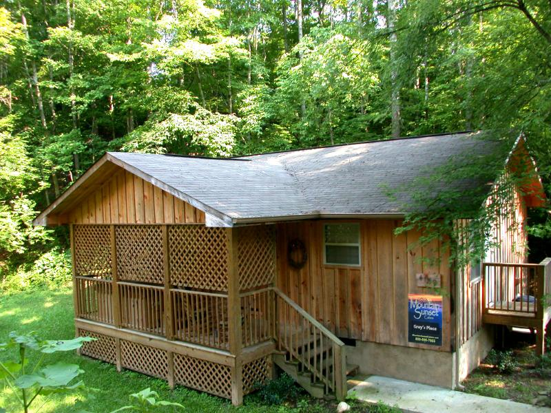 1BR, 1Ba Private Cabin near Pigeon Forge Pkway - 1BR Cabin close to Pigeon Forge Pkwy (gp) - Pigeon Forge - rentals