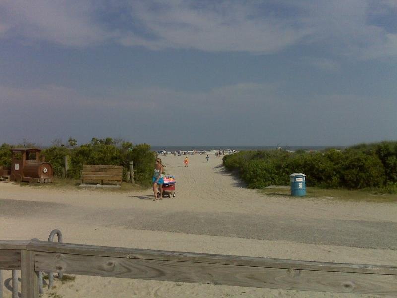 One bedroom condo with a pool and few feet from the beach . - Image 1 - North Wildwood - rentals
