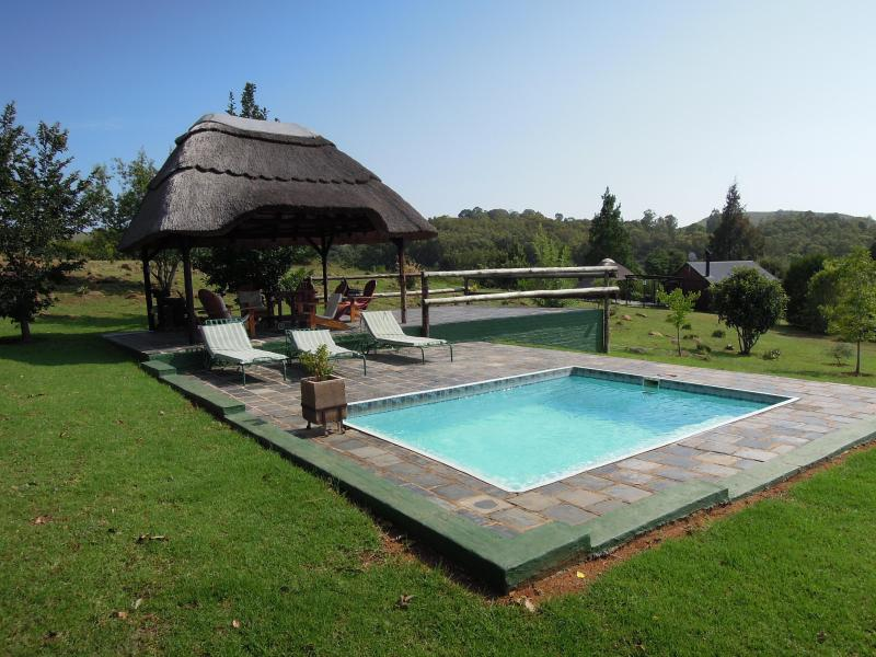 Pool and Lapa - Nullarbor Cottages - Self-Catering in Magaliesburg - Magaliesburg - rentals