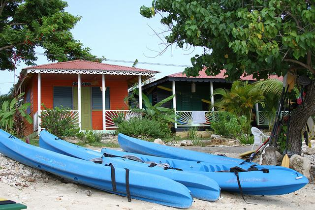 Kayaks on the Beach - Seaside Cabin 1  (One Bed) - Negril - rentals
