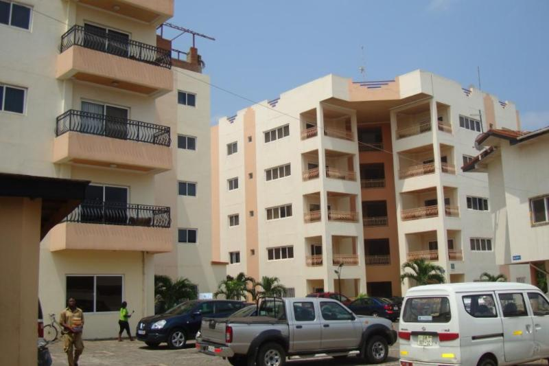 The Left Building has 1-BRM & 2-BRM Apts - T.N. Holi Flats Executive 3-BRM Airport AptHotel - Accra - rentals