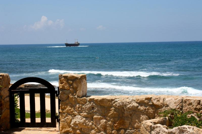 Direct access to the sea front promenade - Oceanfront Paphos 2 Bedroom Apartment - Paphos - rentals
