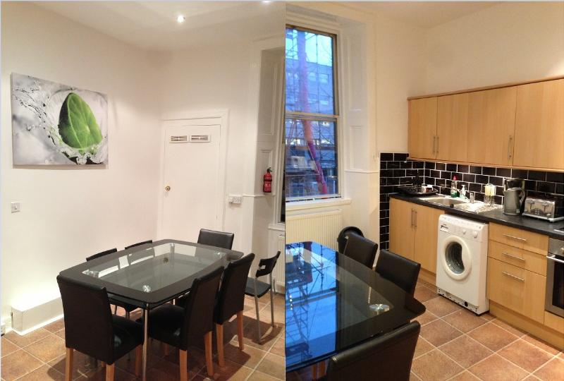 Large dining kitchen  - Large grange apartment - Edinburgh - rentals