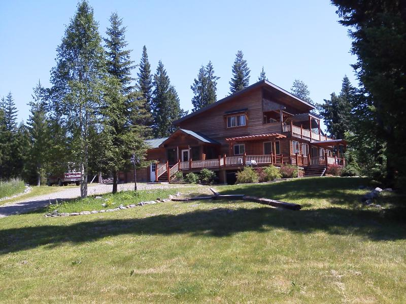 Outside view from yard - Whitefish 3BR Mountainside Retreat on 20 Acres - Whitefish - rentals