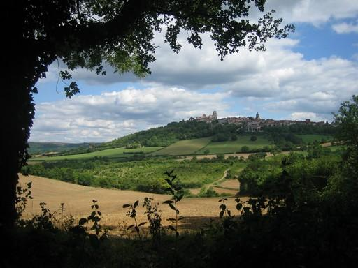 Vezelay from the north - Vezelay, Burgundy, in heart of medieval village - Vézelay - rentals