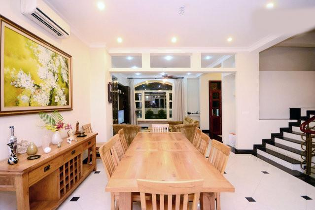 dining room connecting to living room - 6 bedrooms spacious villa in Saigon - Ho Chi Minh City - rentals
