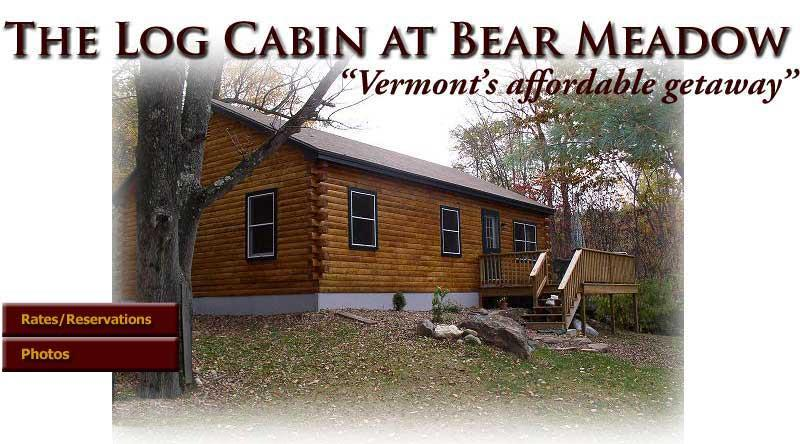 Vermont Log Cabin available for weekend and weekly rentals - Image 1 - Guilford - rentals