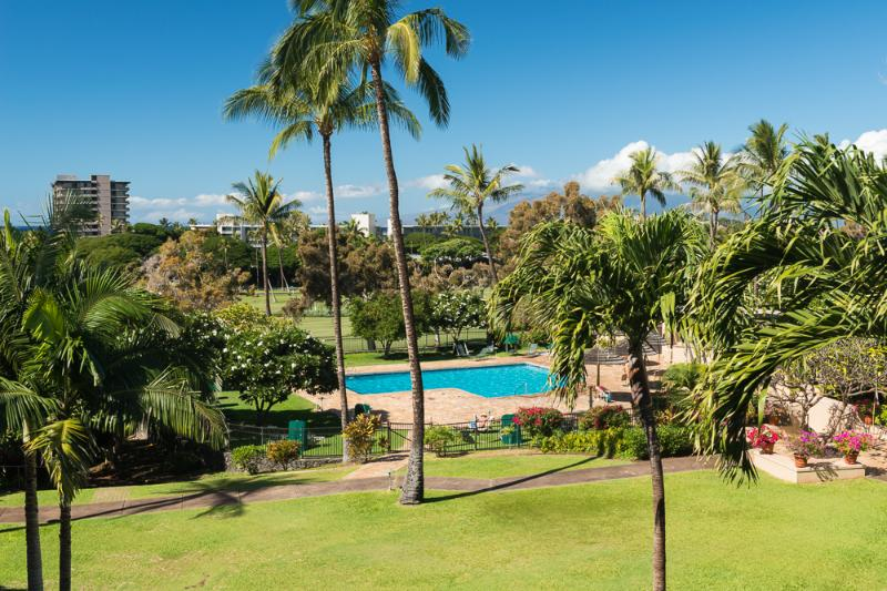 View from the Lanai - Heart of Kaanapali Resort - Kaanapali Royal #G302 - Kaanapali - rentals