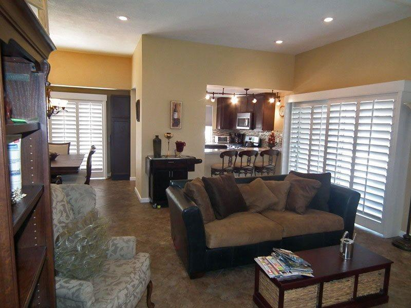 Living Room Looking to Kitchen - Fairways Two Bedroom #1662 - Cathedral City - rentals