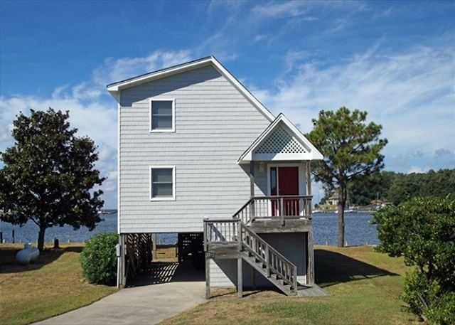 Exterior Photo - CH228- SUNSETS; SOUNDFRONT HOME W/ AMAZING VIEWS! - Kill Devil Hills - rentals