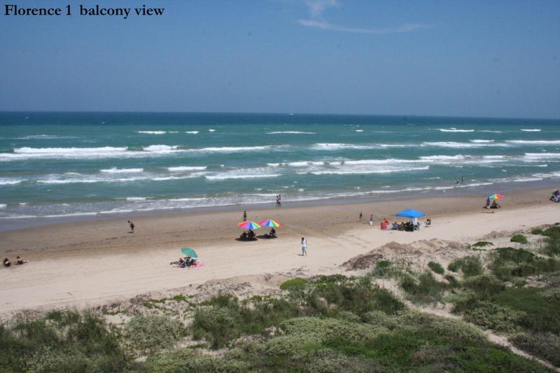 view from balcony - Beachfront PARADISE at it's best! Awesome views! Sleeps 6! Great value! FREE WIFI, Indoor parking - South Padre Island - rentals