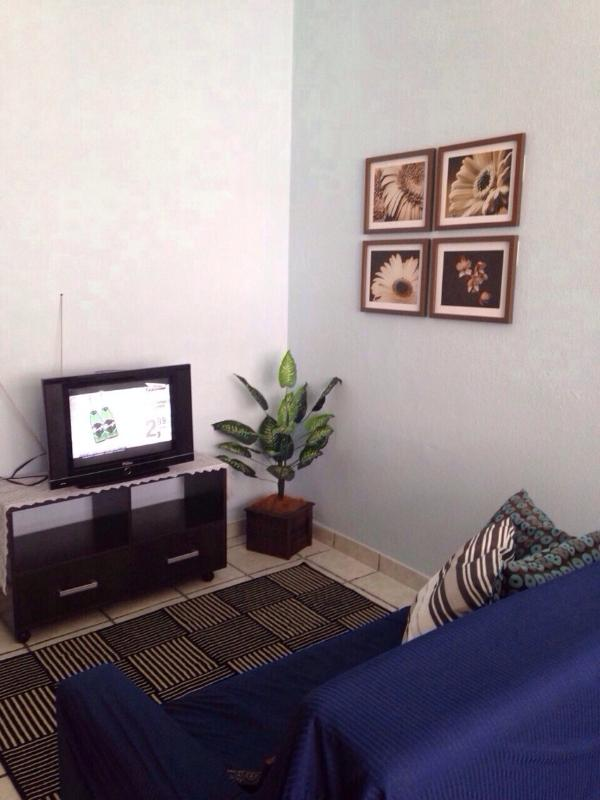 Livingroom Area - Copacabana 1 block from the Beach with WIFI !!! - Copacabana - rentals