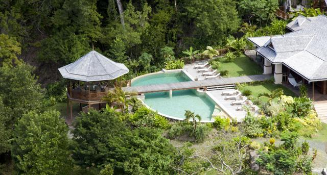 Villa Susanna at Marigot Bay, Saint Lucia - Ocean View, Near Beach, Pool - Image 1 - Marigot Bay - rentals