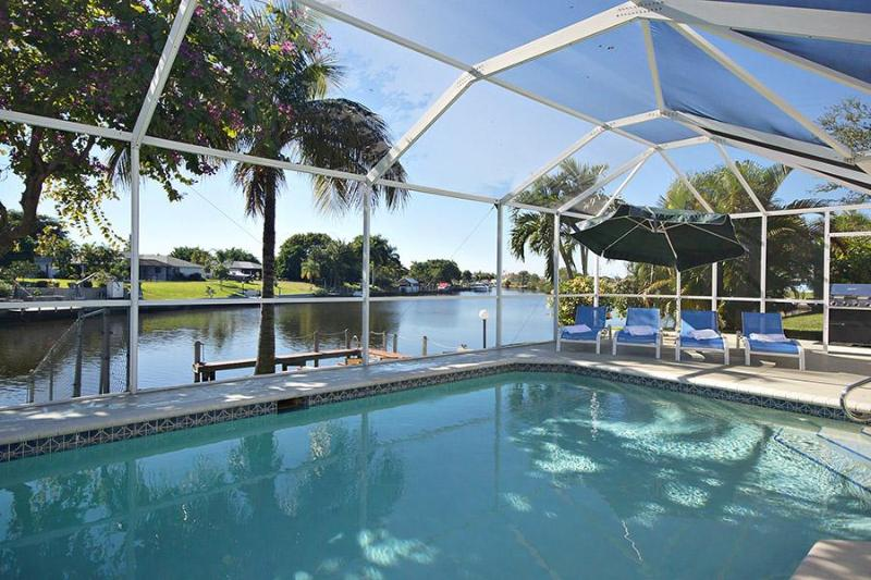 Villa Sunset Terrace, Gulf access, amazing view - Image 1 - Cape Coral - rentals