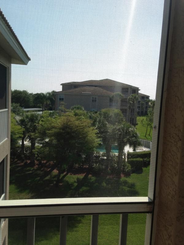 View from lanai - Cedar Hammock Golf & Country Club Condo - Naples - rentals