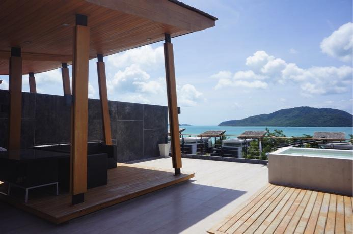 Rooftop sitting area - Ultra modern & highly stylish holiday home - Phuket - rentals
