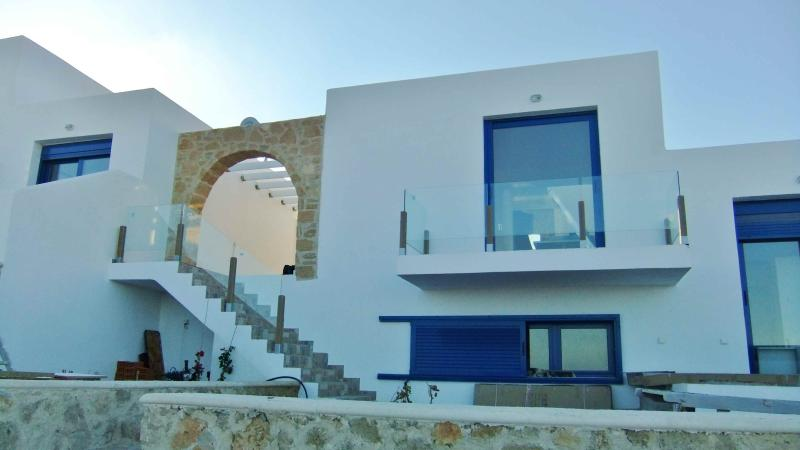 Villa of Wonder Wings front view - Villa Wonder Wings - Karpathos: 30mt from the sea! - Karpathos - rentals
