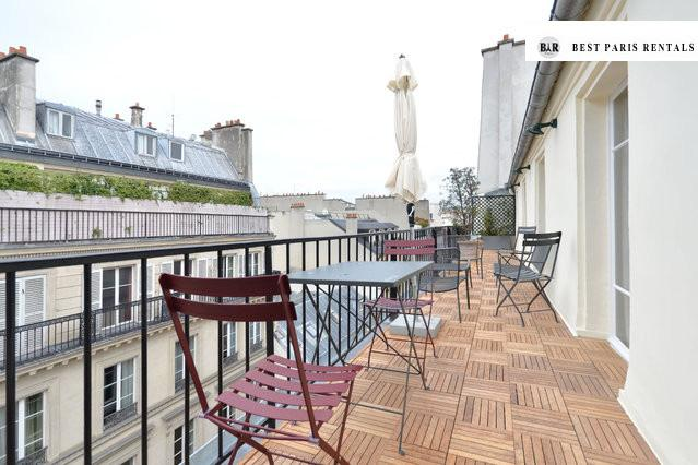 Amazing Top roof Penthouse with 100m2 terrace - Image 1 - Paris - rentals