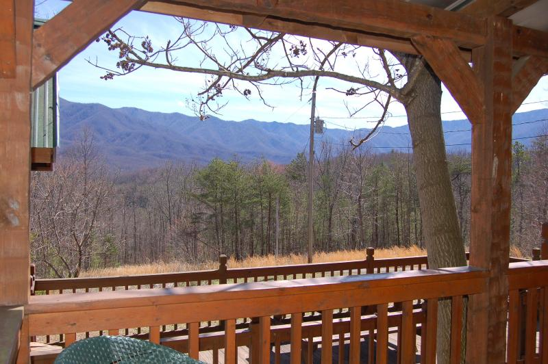 """Breathtaking Mountain Views - Secluded """"CARRIES CABIN"""" 30 acres near Gatlinburg - Cosby - rentals"""
