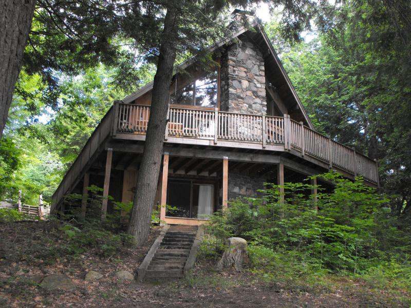 View from the lake - House on Lake with a Beautiful View - Casco - rentals