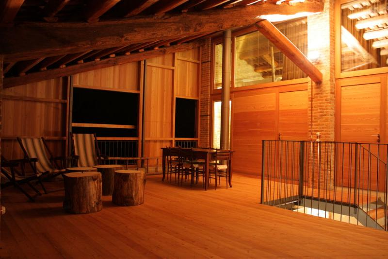 Patio - Apartments entrance @ night - ....on the Venetian Hills - Asolo - rentals