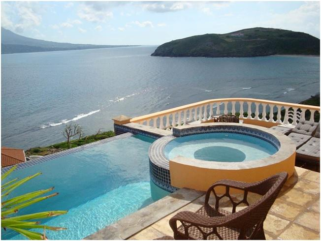 Infinity Pool & Jacuzzi - Stunning 4 Bedroom Villa in Turtle Beach - Turtle Beach - rentals