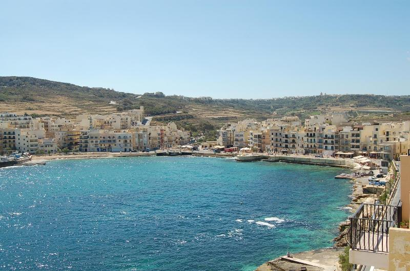 View from Balcony  - Gozo Holiday Rentals Apt Spectacular Views,Air-Con - Marsalforn - rentals