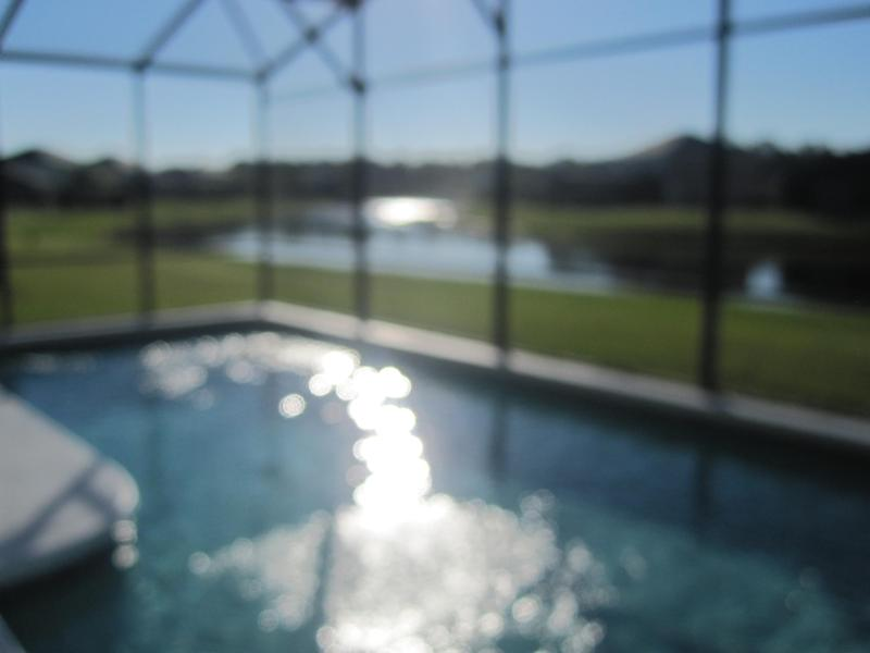 Stunning pool area - Executive Villa with Stunning Lakeviews & South Facing Pool and Spa / Jacuzzi - a dream vacation home - Kissimmee - rentals
