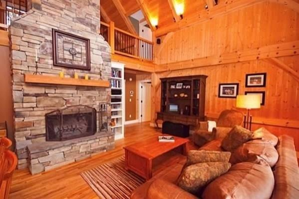 Asheville  NC 5 Bedroom Luxury Timber Frame Home - Image 1 - Fairview - rentals