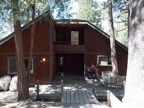 Back of Home - Hidden Oaks of Beautiful Idyllwild - Idyllwild - rentals