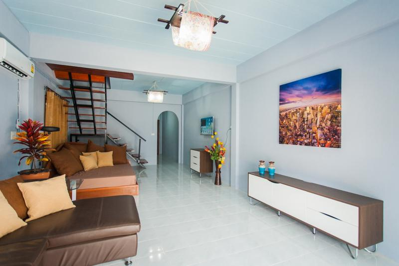 living - 2 Bedroom House Shared Pool - Patong - rentals