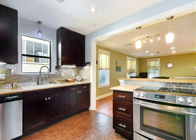 Kitchen - 3BR/1BA Heart of South Congress Remodeled Bungalow - Austin - rentals