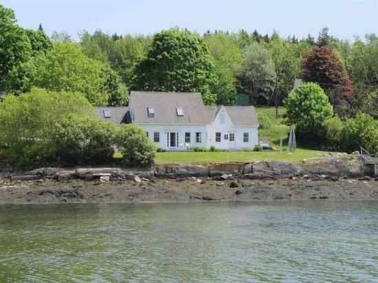 View from Lowells Cove - Captain`s View - Orrs Island - rentals
